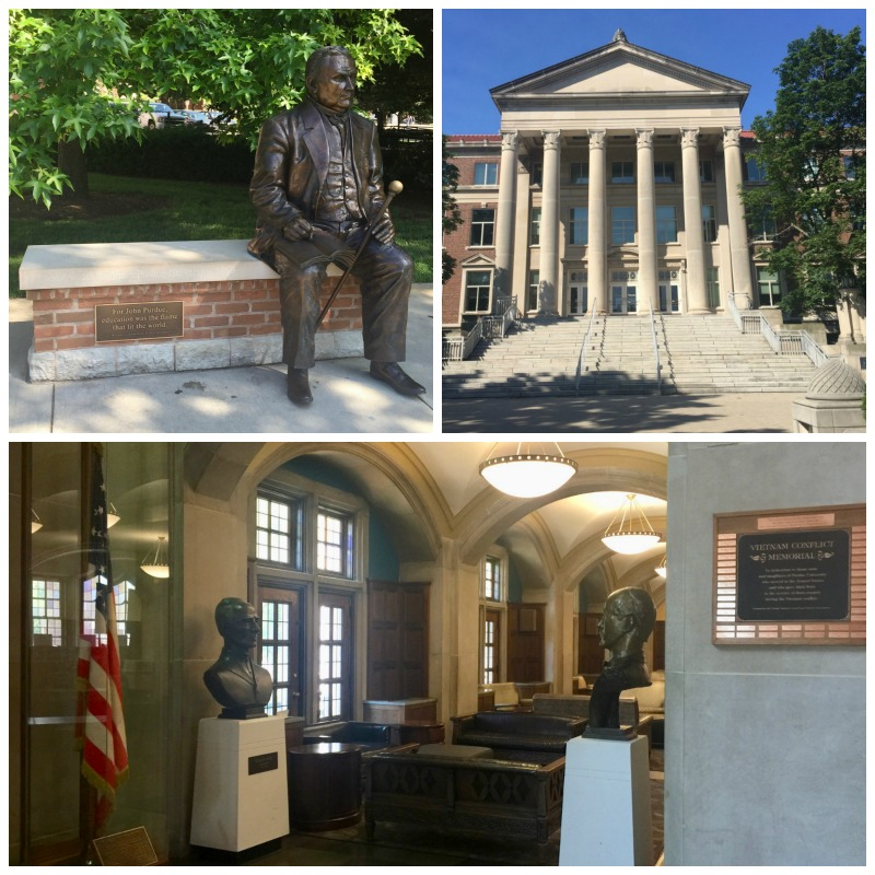 Stopping by the campus of Purdue is a must when visiting West Lafayette, Indiana.