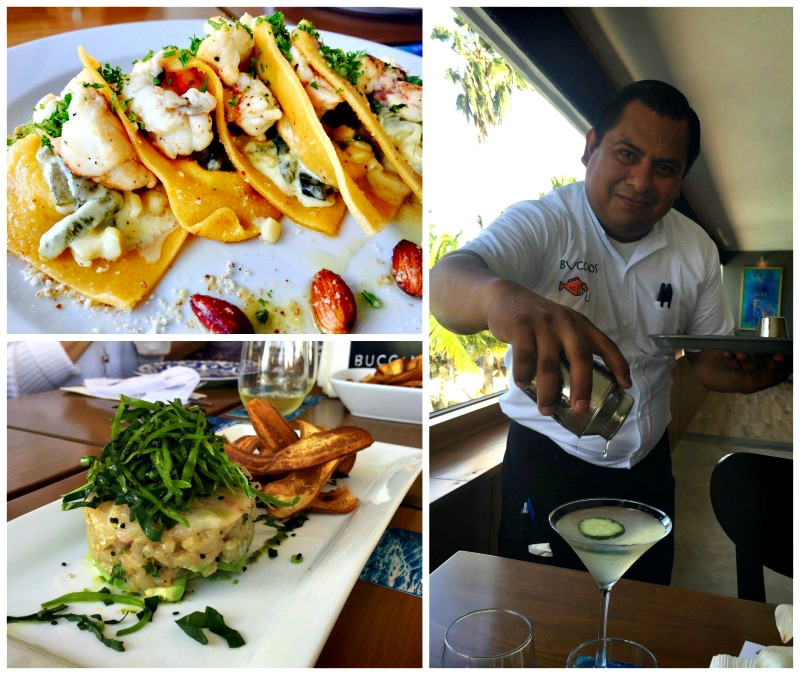 Buccano's is one of the places for delicious dining in Cozumel, Mexico.