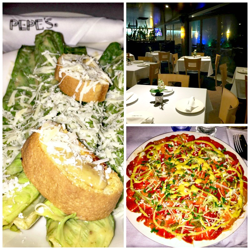 Pepe's is one of the places for delicious dining in Cozumel, Mexico.
