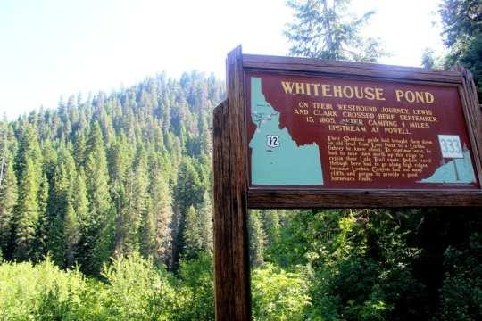 Whitehouse Pond, Idaho. Where Lewis and Clark passed through