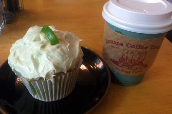 Picture of Key Lime cupcake