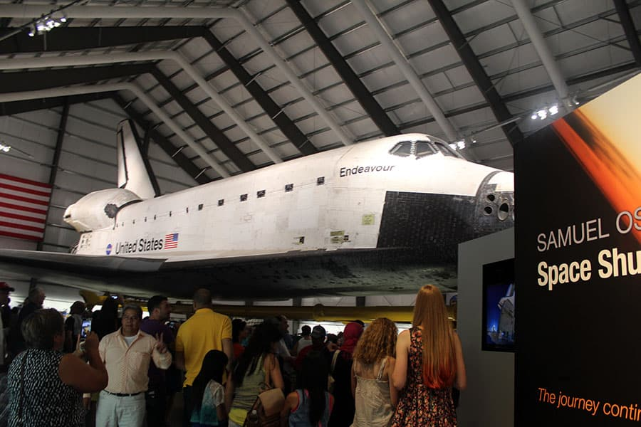 Space Shuttle Endeavour California Science Center Los Angeles