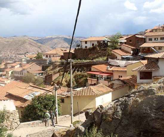 view from San Cristobal Cusco