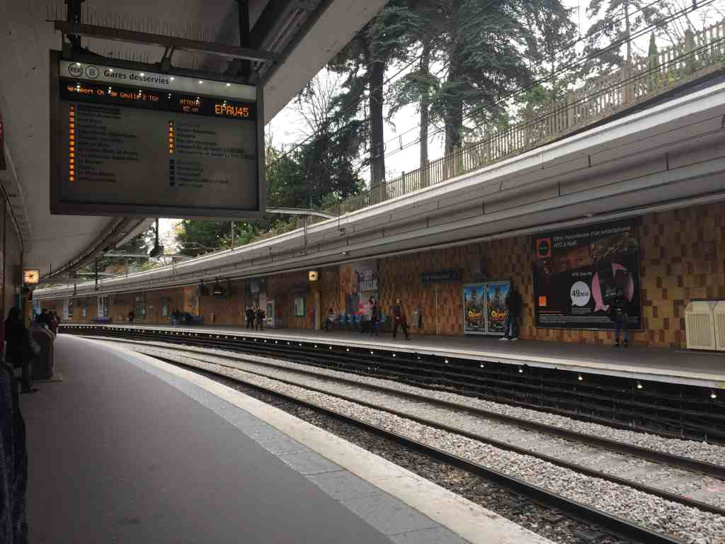 RER station Paris