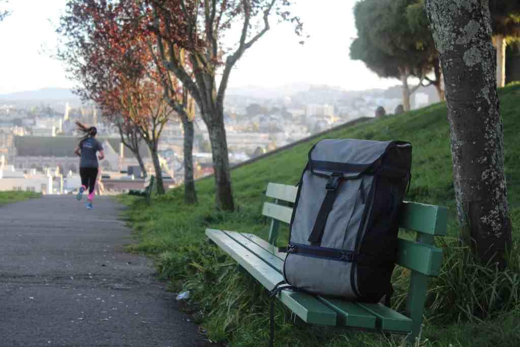 Timbuk2 Aviator backpack for digital nomads
