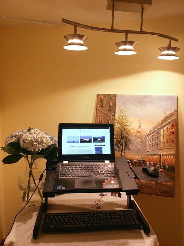 Standing Desk Area