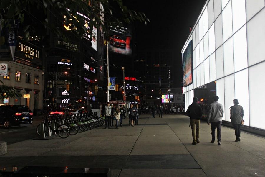 Nuit Blanche Toronto - Eaton Centre