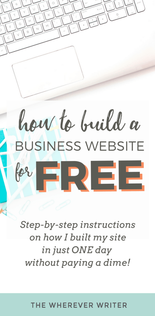 How to Build a Business Website for FREE