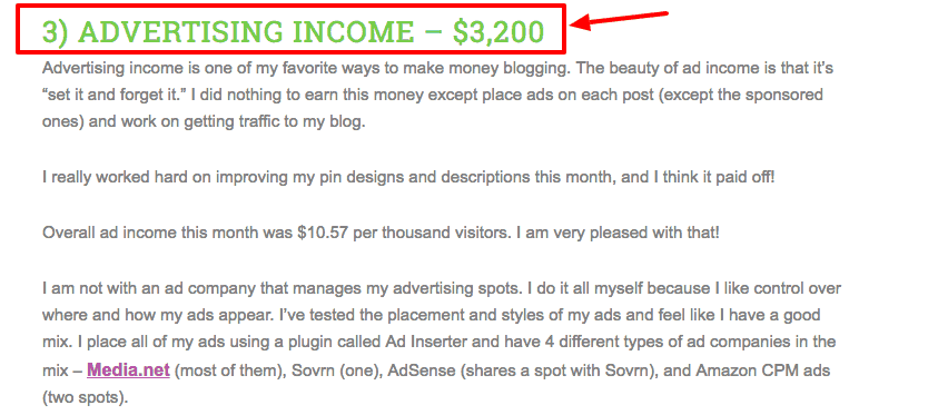 how to monetize a blog - ad networks