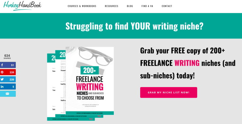 how to monetize a blog - freelance writing