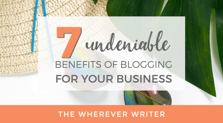 Benefits of Blogging for Business - Featured