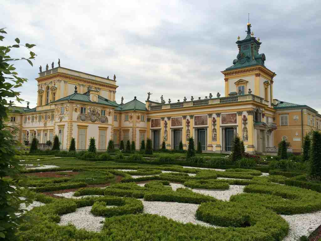 Eastern Europe Itinerary - Wilanow Palace Warsaw, Poland