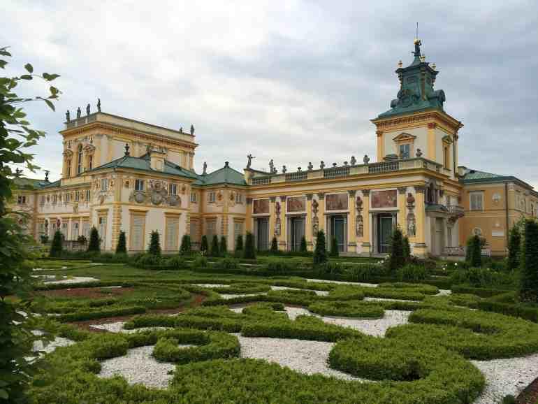 Eastern Europe Itinerary - Wilanow Palace Warsaw, Poland