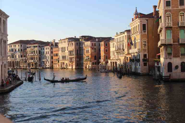 24 Hours in Venice - Sunset on the Grand Canal