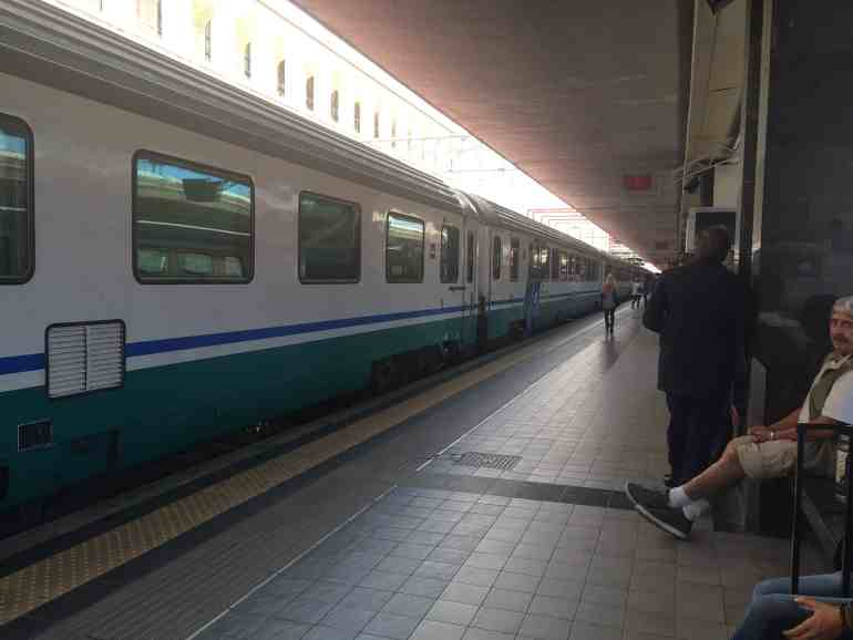 Leonardo Express Airport Train - Regional train to Fabriano