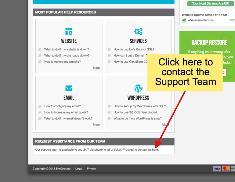 how to transfer website to new host- step 3