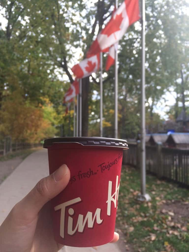 Cheap places to eat in Toronto - Tim Horton's