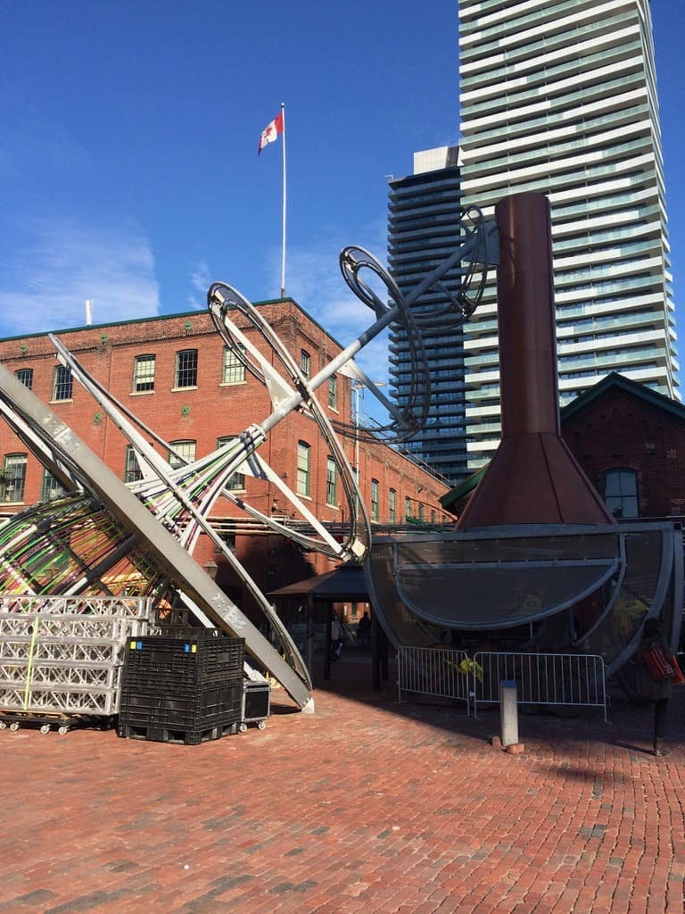 Free things to do in Toronto - The Distillery District