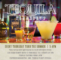 MOUNT PLEASANT, SC – SOL SOUTHWEST KITCHEN & TEQUILA BAR IS HEATING UP THE SUMMER WITH TEQUILA THURSDAYS, MT. PLEASANT'S HOTTEST NEW HAPPY HOUR. THIS WEEKLY EVENT TAKES PLACE FROM 5:00 – 8:00PM AND features a different premium, 100% agave tequila each week. Guests have the opportunity to taste the featured aged tequila and learn more about the process that makes each tequila unique. Signature cocktails, margaritas and tequila flights will be available throughout the night showcasing the featured tequila. For the month of July, the Tequila Thursday featured tequilas include Patron, Centinela, Cabo Wabo, Casamigos and Espolon. WEZL 103.5 morning show host, TJ Phillips, hosts the weekly Happy Hour tequila party, with a live radio broadcast at 5pm before the tequila tastings begin at 6:00pm. Each week event goers have the opportunity to register to win a fully-stocked Tequila Bar valued at over $500 that will be awarded during the last installment of the series on September 4. Tequila Thursday's Featured Tequila Schedule for July: 7/3 – Patron 7/10 – Centinela 7/17 – Cabo Wabo 7/24 – Casamigos 7/31 – Espolon