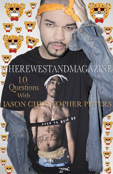 10 Questions with Celebrity Fashion Designer Jason Christopher Peters