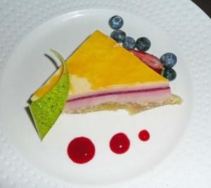 Cala Bella raspberry cheesecake