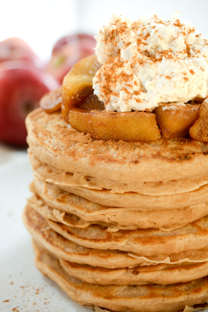 Weight Watchers Apple Cinnamon Protein Pancake