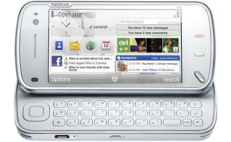 nokia n97 white keyboard 163584 - Nova atualização do Nokia N97