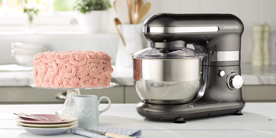 Aldi Launches 65 Stand Mixer Ahead Of Bake Off 2017
