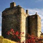 Neidpath Castle Cottage, Peebles, Scottish Borders