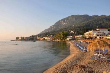 Benitses Beach Corfu