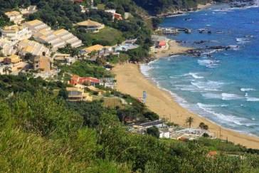 Pelekas Beach Corfu