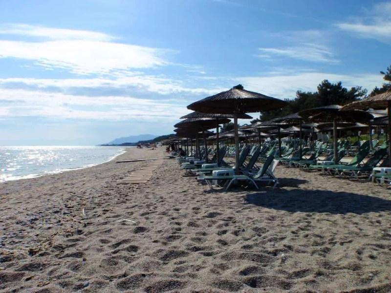 Agia Paraskevi Beach Santorini
