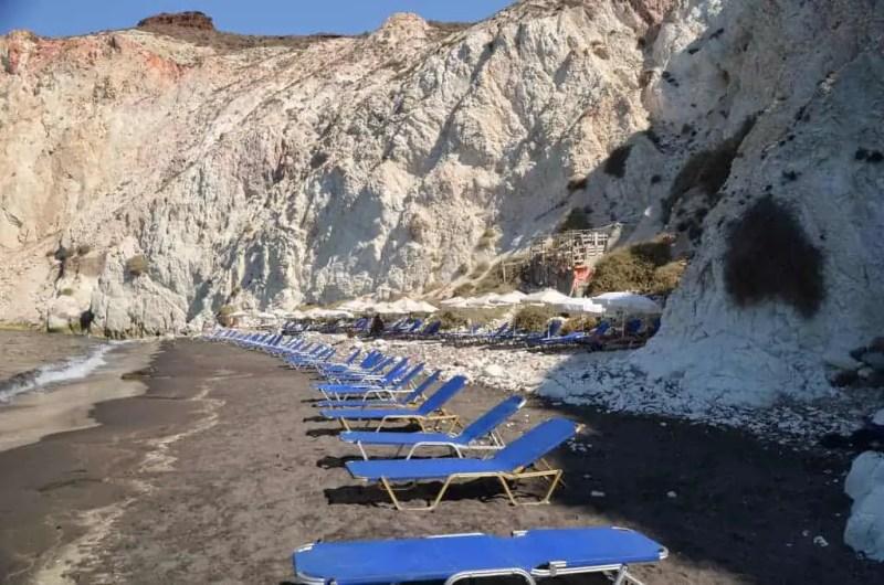 White Beach Santorini