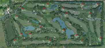 Map of Corfu Golf Club