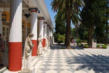 Achilleion Statues Corfu