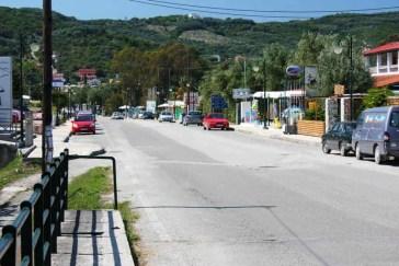 Moraitika Main Road Corfu