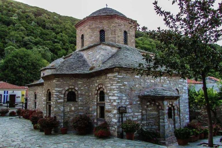 Monastery Evangelistria Skiathos