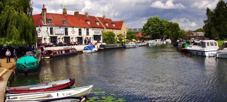 Picture of Cambs Town.