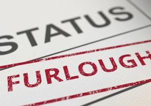 Status: Furloughed Stamp