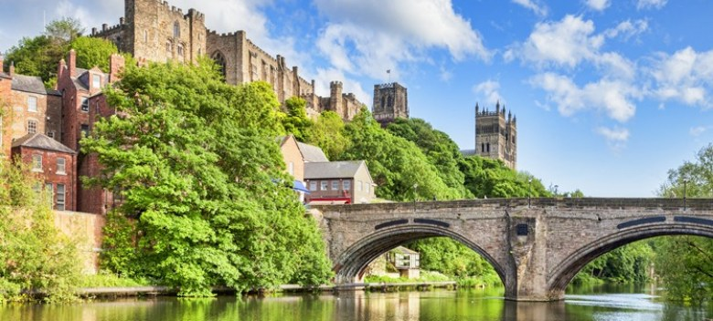 Picture of Durham Castle from Riverside.