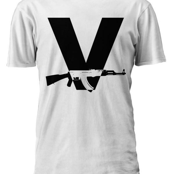 V-Gun-Ak-47-White-Shirt