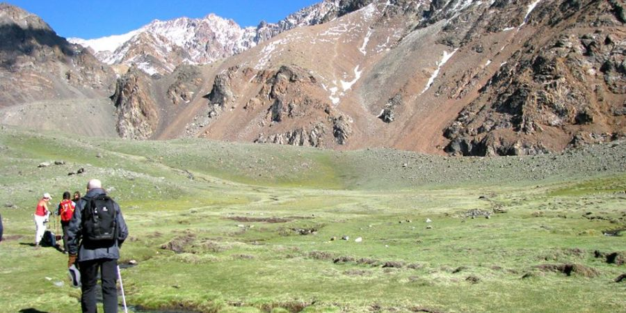 Hiking the Andes in Argentina