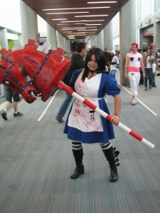 I love that people are still cosplaying from the Alice game.