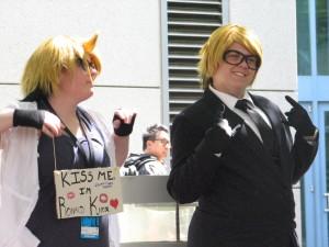 A couple of Ronald Knoxs... also from Kuroshitsuji