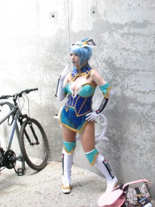 Blue Rose from Tiger and Bunny
