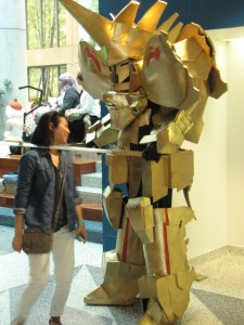Sweet giant knight costume