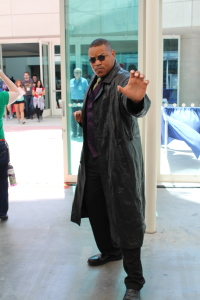 An incredibly accurate Morpheus cosplay