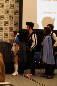 Space Dandy and Chun Li spotted