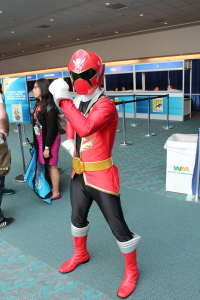 Red Ranger from Mighty Morphin Power Rangers Samurai