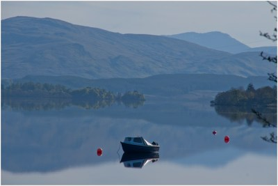 Early Morning Mist - Loch Awe - Rebecca Potter